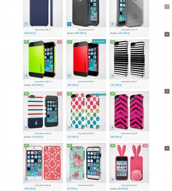 Mẫu điện tử, mobile store – EZ049
