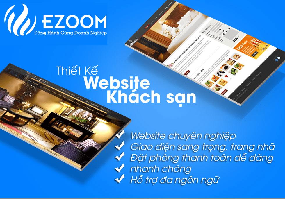 Thiết kế website khách sạn chuyên nghiệp, sang trọng và chuẩn seo