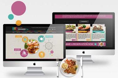 Ezoom.vn thiết kế 1 website đơn giản chuyên nghiệp